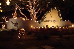 HOA Communities Holiday Lighting Arizona