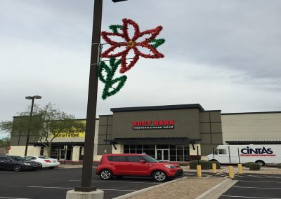 Parking Lot Pole Decoration