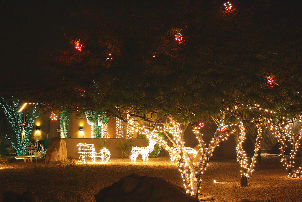 Custom Holiday Lighting Arizona