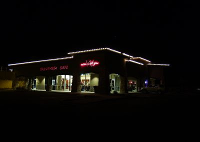 Scottsdale Business Holiday Perimeter Lighting
