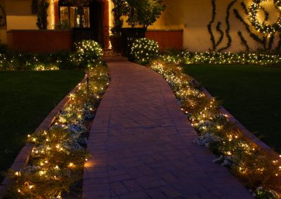 Holiday Walkway Lighting