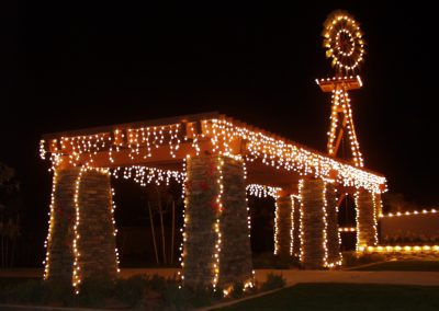 HOA Community Holiday Lighting Structure