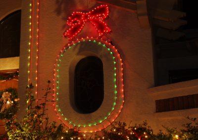 Multi-color Light Lined Window